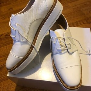 Nine West White Leather Shoes